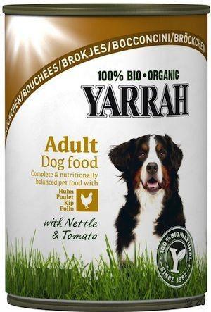 Yarrah Trocitos de Pollo en Lata para Perros Bio 800g