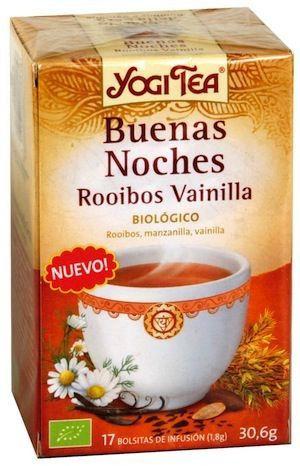 Yogi Tea Buenas Noches Rooibos Vainilla 17 bolsitas