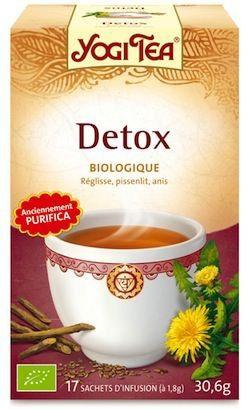 Yogi Tea Detox - Purifica 17 bolsitas
