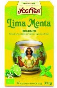 Yogi Tea Menta Lima 17 bolsitas