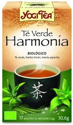 Yogi Tea Te Verde Harmonía 17 bolsitas
