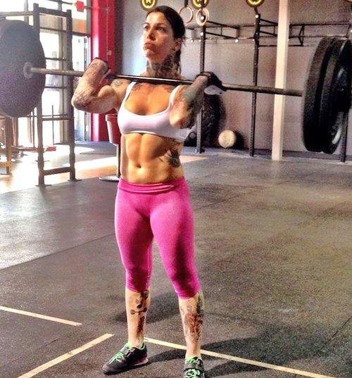 Practicar crossfit para estar en forma