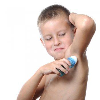 Olor corporal infantil