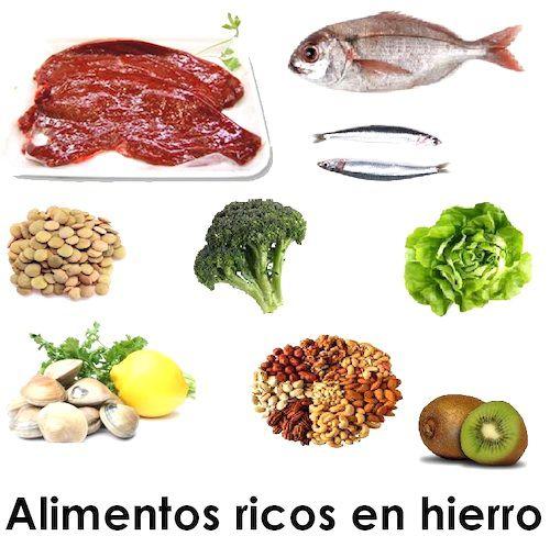 C mo tratar la anemia por falta de hierro - Anemia alimentos recomendados ...