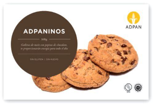 Adpan Adpaninos Sin Glúten ni Huevo 160g