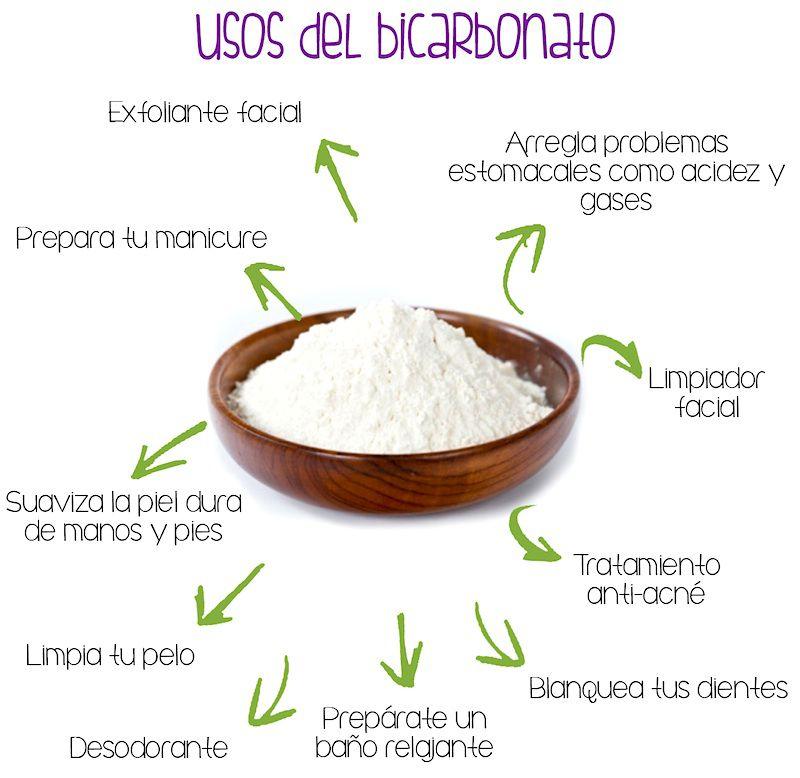 utilidades bicarbonato