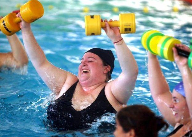 ejercicio obeso