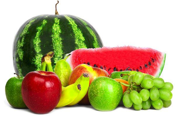 frutas gases