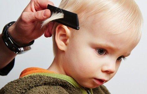 perdida cabello infantil