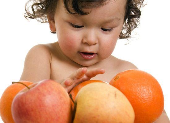 frutas bebes