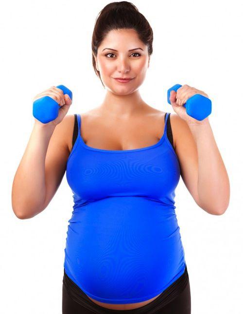pesas embarazo