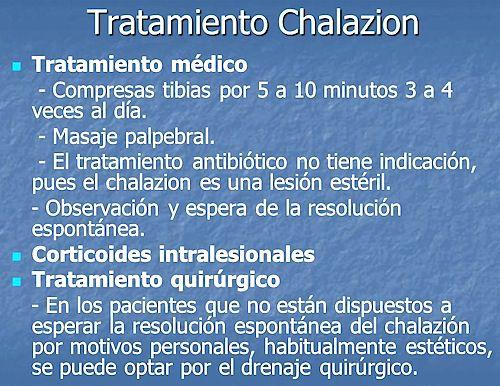 chalazion tratamiento