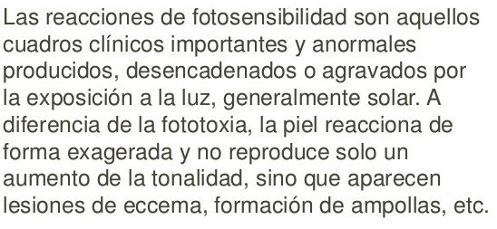 fotosensible