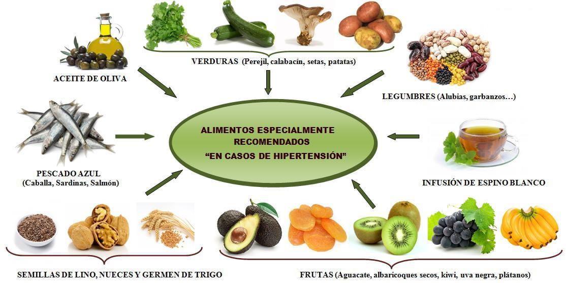 Alimentos que ayudan a mantener la tensi n arterial blog - Alimentos para la hipertension alta ...