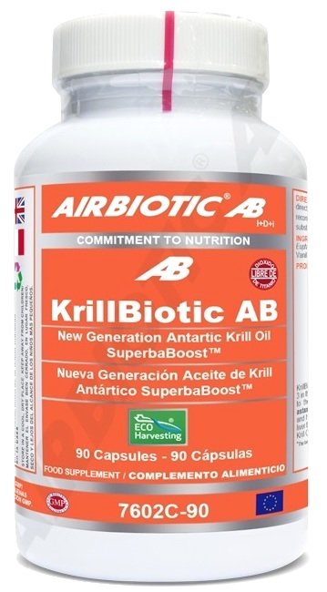 Airbiotic Krillbiotic AB 590mg Echoharvesting 90 cápsulas