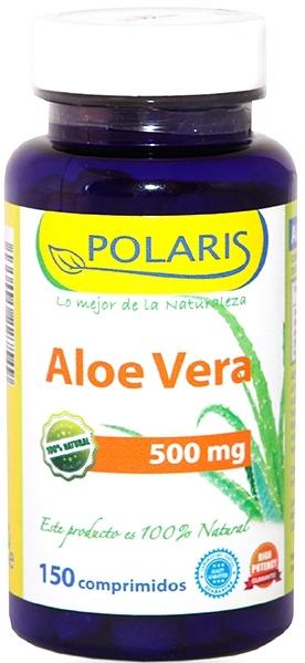 Polaris aloe vera 500mg 150 comprimidos
