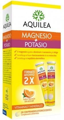 Aquilea Duplo Magnesio + Potasio 28 comprimidos