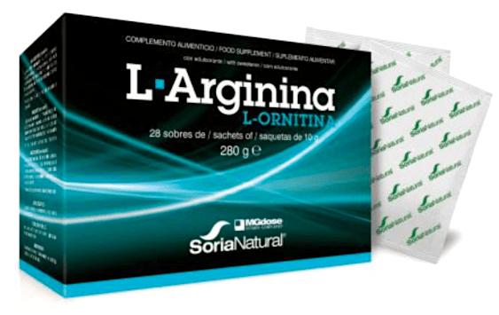 MGdose L-Arginina + L-Ornitina 28 sobres