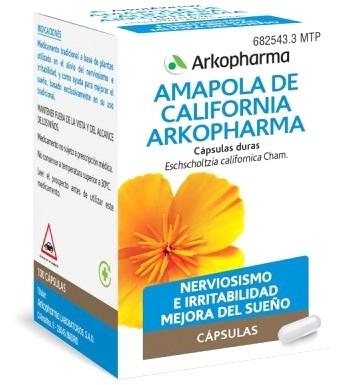 Arkopharma Amapola de California 100 Arkocápsulas