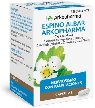 Arkopharma Espino Albar 84 Arkocápsulas