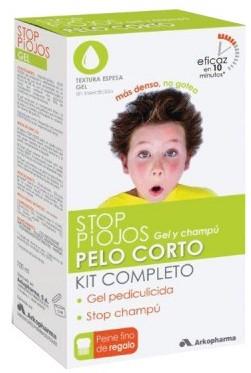Arkopharma Stop Piojos Pack Pelo Corto (Loción + Champú + Lendrera)