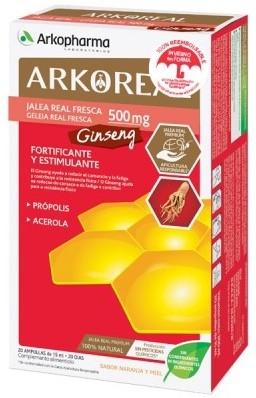 Arkoreal Jalea Real + Ginseng 20 unidosis