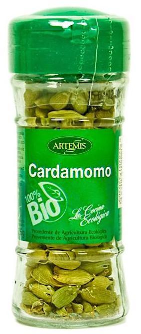 Artemis Bio cardamomo Bio en grano 25g