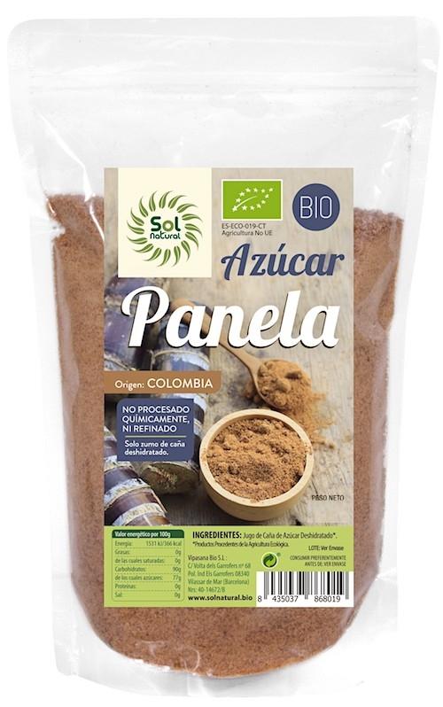 Sol Natural Panela azucar Bio 1kg