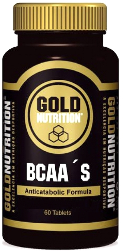 Gold Nutrition BCAA 60 comprimidos