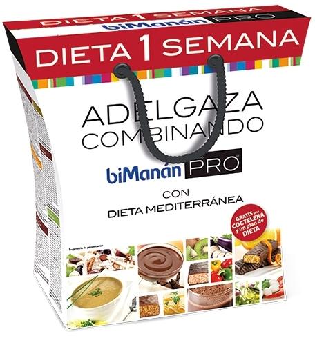 Bimanan Pro Pack Dieta 1 Semana