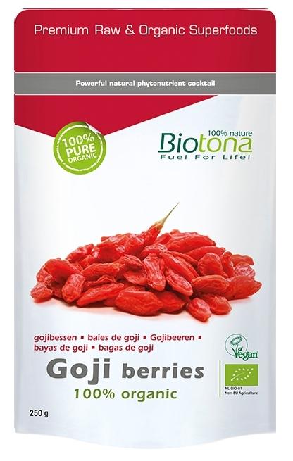Biotona Bayas de Goji 100% semillas 250gr