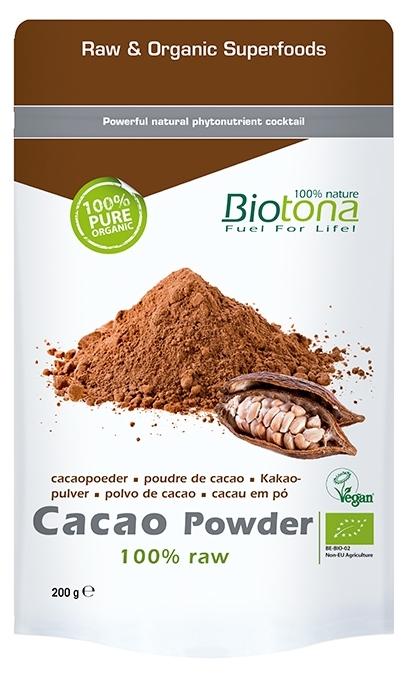 Biotona Cacao Powder 100% puro 200gr