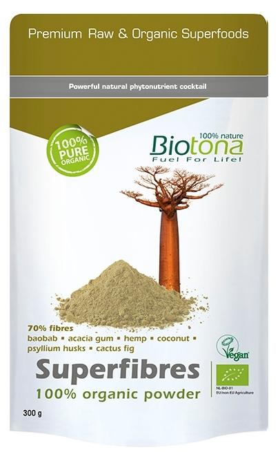 Biotona Superfibres 100% polvo puro 300gr