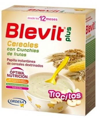 Ordesa Blevit Plus Trocitos Cereales con Crunchies de Frutas 600gr