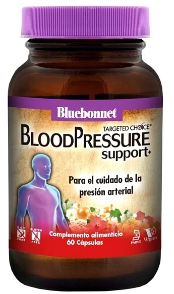 Bluebonnet Blood Pressure Support 60 cápsulas