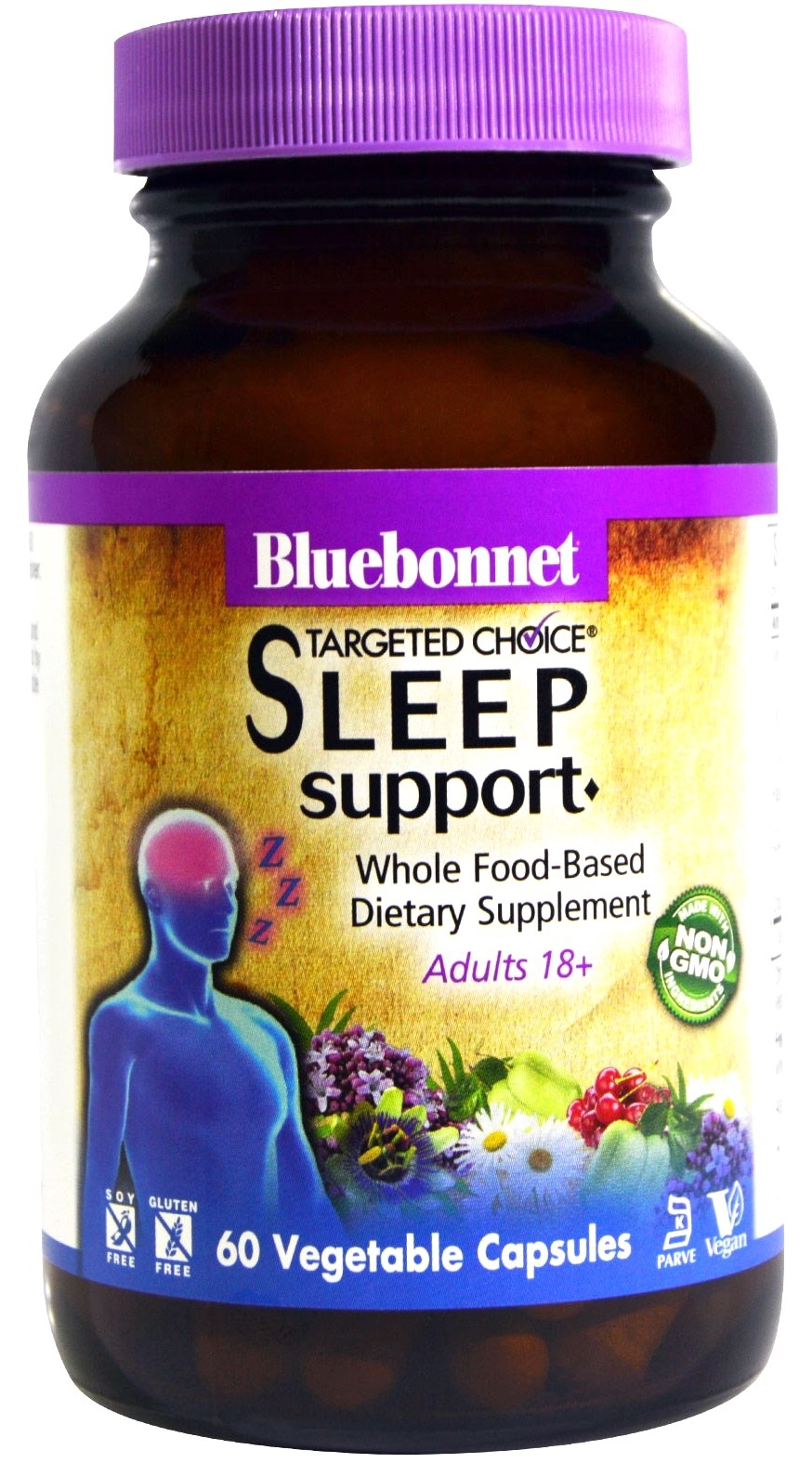 Bluebonnet Sleep Support - Targeted Choice 30 cápsulas