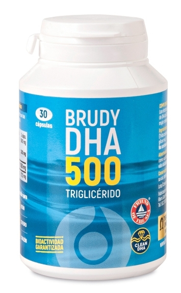 Brudylab Brudy DHA 500 30 cápsulas