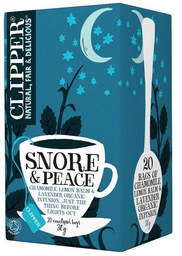 Clipper infusión Snore & Peace Bio 20 filtros