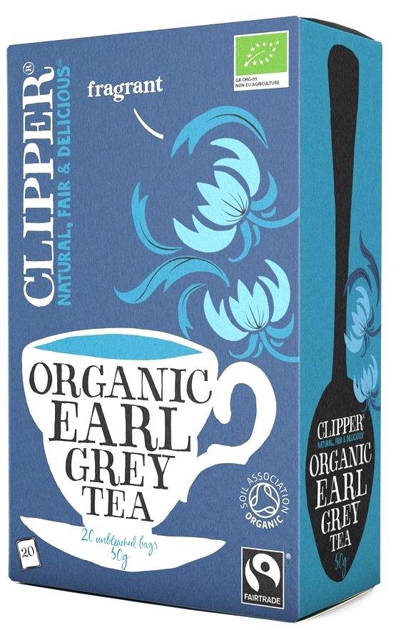 Clipper té negro Earl Grey Bio 20 filtros