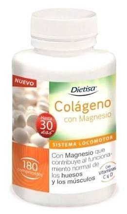 Dietisa Colágeno con Magnesio 180 comprimidos