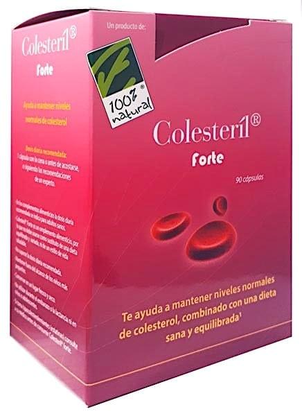 100% Natural Colesteril forte 90 cápsulas