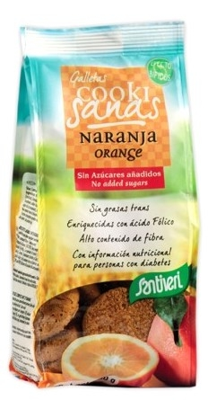 Santiveri Galletas Cookisanas de Naranja Sin Azúcar 150gr