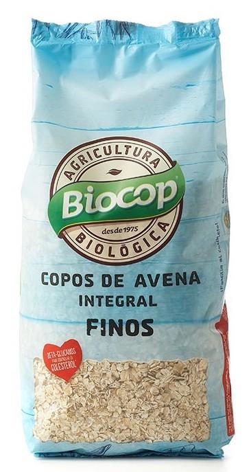 Biocop Copos de Avena Integral Finos Bio 500gr