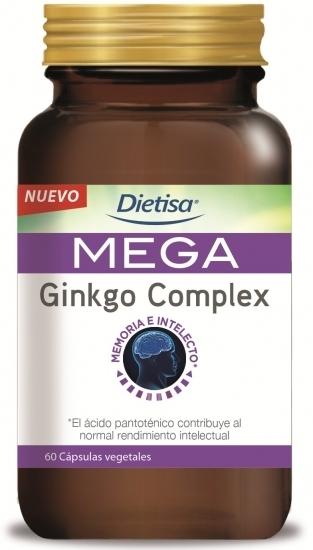 Dietisa Mega Ginkgo Complex 60 cápsulas