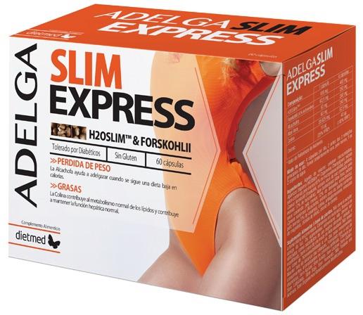 Dietmed Adelga Slim Express 60 cápsulas