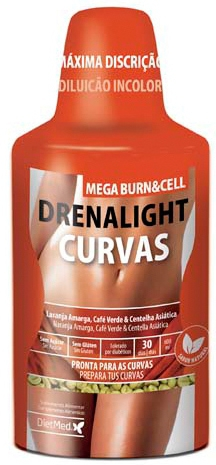 Dietmed Drenalight Curvas Mega Burn 600ml