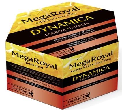 Dietmed Megaroyal Dynamica 20 ampollas