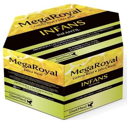 Dietmed Megaroyal Infans 20 ampollas