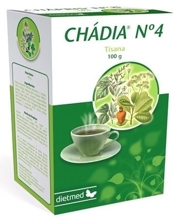 Dietmed Tisana Nº4 Chadia 100gr