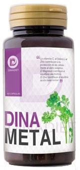 Dinadiet Dinametal 60 cápsulas